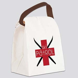 Ski Patrol Canvas Lunch Bag