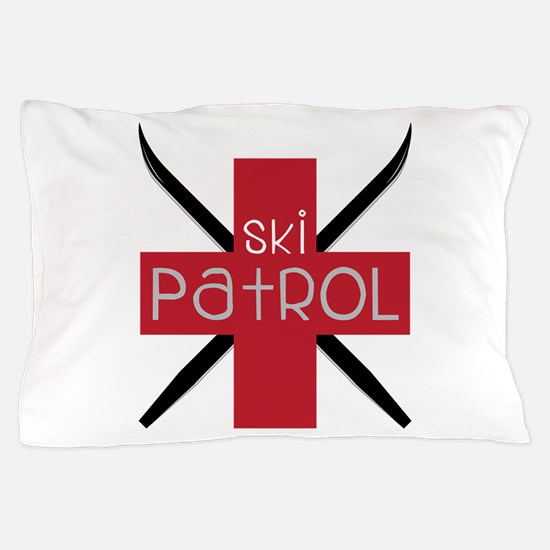 Ski Patrol Pillow Case