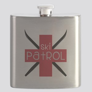 Ski Patrol Flask