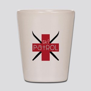 Ski Patrol Shot Glass