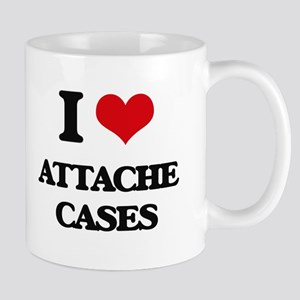 I Love Attache Cases Mugs
