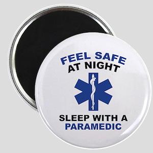 Feel Safe At Night Magnet