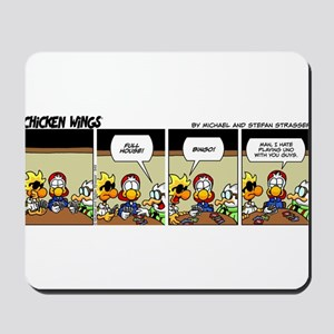 0849 - Playing cards Mousepad