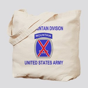 10th Mountain Division<BR>Tote Bag