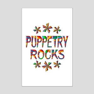 Puppetry Rocks Mini Poster Print