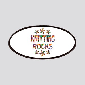 Knitting Rocks Patches