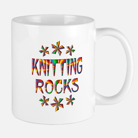 Knitting Rocks Mug