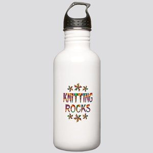 Knitting Rocks Stainless Water Bottle 1.0L