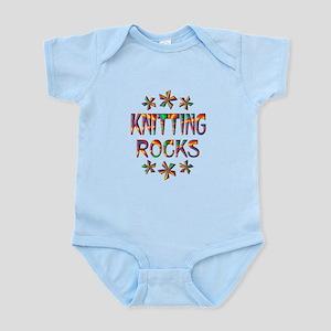 Knitting Rocks Infant Bodysuit