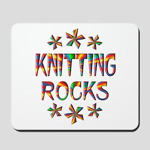 Knitting Rocks Mousepad
