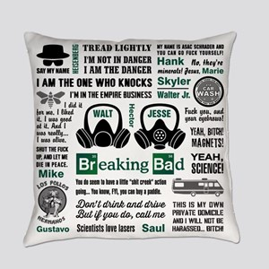 Breaking Bad Quotes Master Pillow