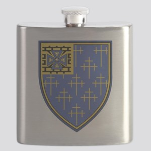 34th Infantry Regiment Military Patch Flask