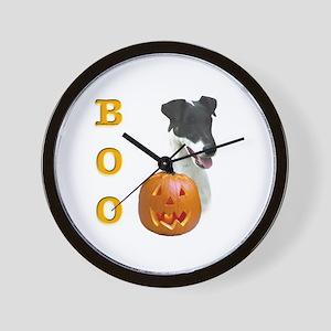 Smooth Fox Boo Wall Clock
