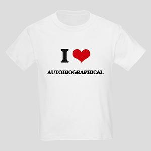I Love Autobiographical T-Shirt
