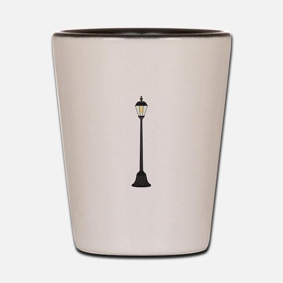 Street Lamp Shot Glass