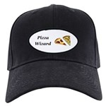 Pizza Wizard Black Cap