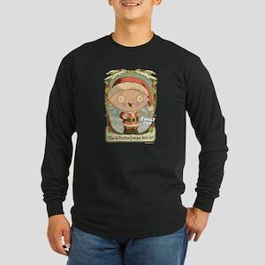 Rather Festive Long Sleeve Dark T-Shirt