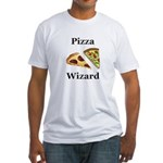 Pizza Wizard Fitted T-Shirt