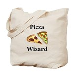 Pizza Wizard Tote Bag