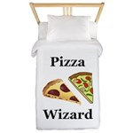 Pizza Wizard Twin Duvet