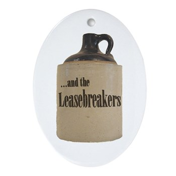 Leaserbreakers Oval Ornament