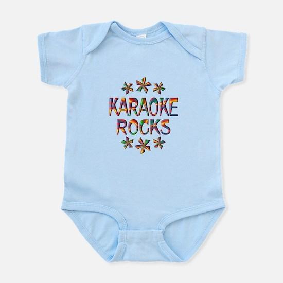 Karaoke Rocks Infant Bodysuit
