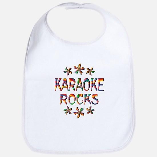 Karaoke Rocks Bib