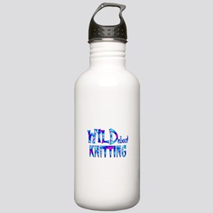 Wild About Knitting Stainless Water Bottle 1.0L