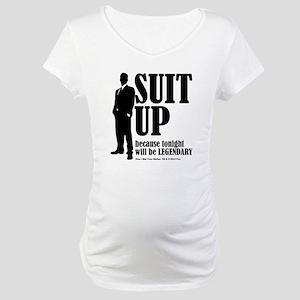 HIMYM Suit Maternity T-Shirt