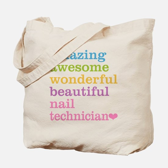 Nail Technician Tote Bag