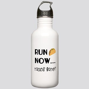 Run Now, Tacos Later Stainless Water Bottle 1.0L
