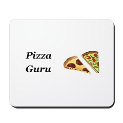 Pizza Guru Mousepad