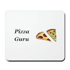 Pizza Guru Mousepad