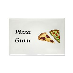 Pizza Guru Rectangle Magnet (100 pack)