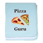 Pizza Guru baby blanket