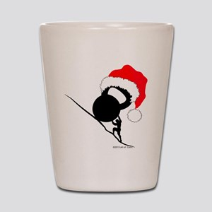 Sisyphus Kettlebell Christmas Shot Glass