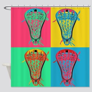 Lacrosse BIG4 Room Set Shower Curtain