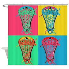 Lacrosse BIG4 Room Set Shower Curtain