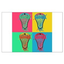 Lacrosse BIG4 Room Set Large Poster