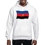 Polyamory Flag Hooded Sweatshirt