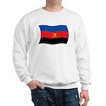 Polyamory Flag Sweatshirt