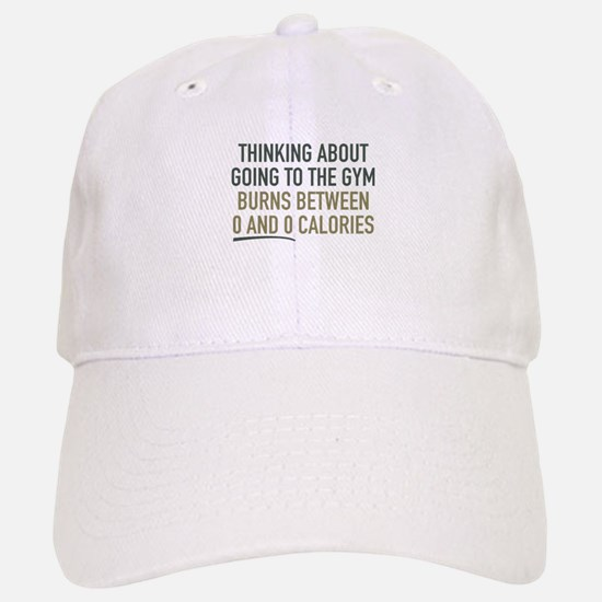 Thinking About Going To The Gym Baseball Baseball Cap
