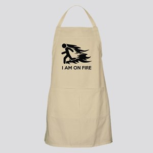 I Am On Fire Apron