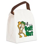 Golf Nut Canvas Lunch Bag