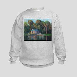 Old Florida Morning at Salt Springs Sweatshirt