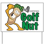 Golf Nut Yard Sign