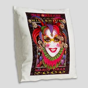 Image19-crazy Burlap Throw Pillow
