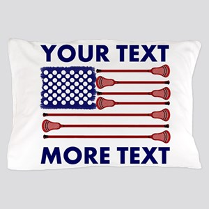 Lacrosse AmericasGame Room Set Pillow Case