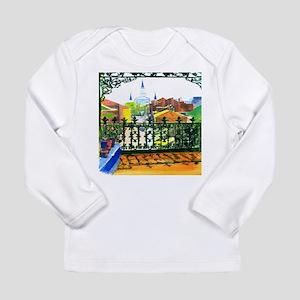 French Quarter Street Tile. Long Sleeve T-Shirt