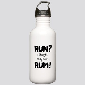 Run? I thought they sa Stainless Water Bottle 1.0L